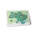 Скреч карта Travel Map Моя Рідна Україна (укр. язык), фото 2