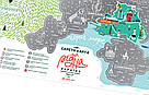 Скреч карта Travel Map Моя Рідна Україна (укр. язык), фото 5