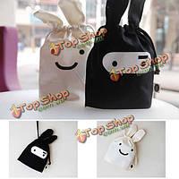 Мини ниндзя милый кролик хранения сумка сумка 34 х 21см