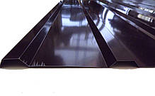 Профнастил ПК-12, кровельный 8-ми волновой, 2м Х 0,95м, толщина 0,3 мм, цвет: шоколад, фото 2