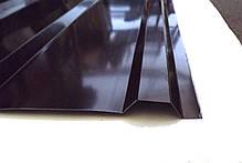 Профнастил ПК-12, кровельный 8-ми волновой, 1,5м Х 0,95м, толщина 0,25мм, цвет: шоколад, фото 3
