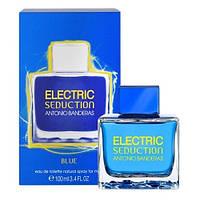 Мужская туалетная вода Antonio Banderas Electric Blue Seduction for Men (Антонио Бандерас Электрик Блю Седакшн