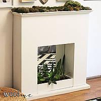 Декоративный деревянный камин (под заказ)