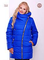 Женская стильная куртка на молнии (Большие размеры) (6 цветов)