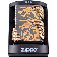 Зажигалка бензиновая Zippo Когти дракона
