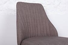 Стул кухонный ткань ALICANTE (Аликанте) Nicolas, текстиль - серый, фото 2