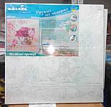 Картина по номерам без упаковки Розовые тюльпаны, 40*40см, (КНО2028), фото 8