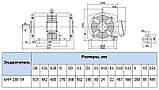 Электродвигатель 4АМН280S4 132 кВт 1500 об/мин, фото 2