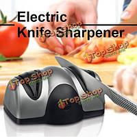 Многофункциональный электрический автоматические нож точилка 2 этап кухня фрукты нож ножницы острые