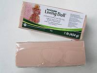 LivingDoll Ливинг Долл, цвет телесный бежевый 454г SuperSculpey (США), заводская уп-ка, фото 1