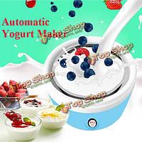 220В домашний автоматический йогурт производитель электрический йогурт крем делая машину