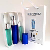 Набор мужских пробников Kenzo L`eau par Kenzo pour Homme (Ле Пар Кензо пур Хом) 3x15 мл