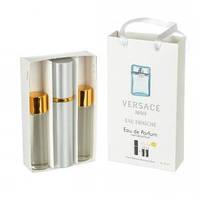 Набор мужских пробников Versace Man eau Fraiche (Версаче Мен Фреш) с феромонами, 3 x15 мл