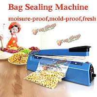 Мешок подогрев машина запечатывания мешка Герметик уплотнительный электрическая ручная 220v машина еды чай из пластика