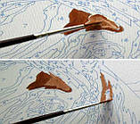 Картина по номерам Абрикосовый натюрморт, 40*50см, (КН2031), фото 7