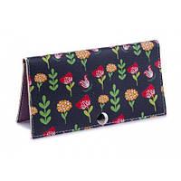 Женский кошелек -Летний сад-. Ручная работа