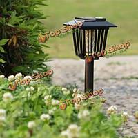 Солнечной энергии комаров вредителей заппер фонарь LED свет лампы