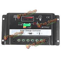 12v 24v 30а солнечного освещения панели регулятор батареи контроллер заряда CE