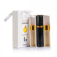 Мини-парфюмерия с феромонами Chanel Chance (Шанель Шанс) 3x15 мл (реплика)