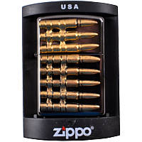 Зажигалка бензиновая Zippo Пули