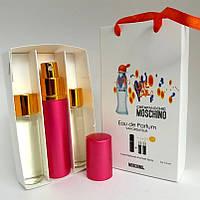 Пробники парфюмов Moschino I love love (Москино Ай Лав Лав) с феромонами + 2 запаски, 3x15 мл.