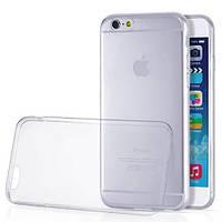 Бампер-чехол для Айфон 6 силиконовый, прозрачный