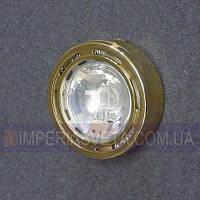 Мебельный светильник, подсветка IMPERIA галогенная накладная со стеклом LUX-124652