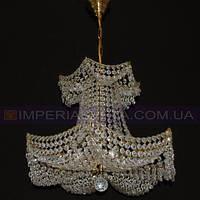 Люстра хрустальная с подвесками Preciosa шестиламповая LUX-341545