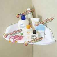 Присоска угловая полка для ванной организатор шкафа крем держатель