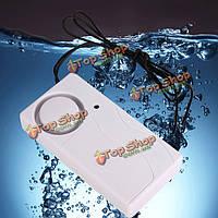Утечка сигнализации уровня воды вода полная утечка детектор датчик с зондом и пультом
