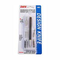 Набор для моделирования 6001: нож макетный, 5сменных лезвий + 7 насадок, DAFA (94160C604)