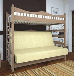 """Двухъярусная кровать """"Комби 3"""" ТИС"""