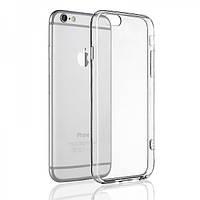 Бампер-чехол для Айфон 6+ силиконовый, прозрачный