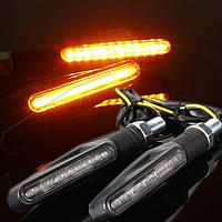 Поворотники для мотоцикла LED желтый 4шт