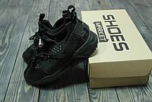 Мужские кроссовки Nike Air Huarache Utility Black 806807-002, Найк Аир Хуарачи, фото 3
