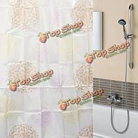 170x180см фейерверк экран полиэфирных волокон ванная комната водонепроницаемый занавески для душа