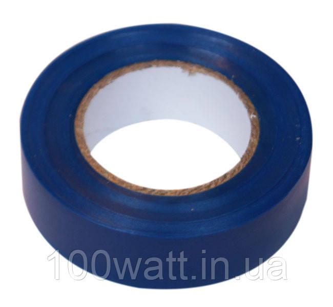 Изолента огнестойкая ПВХ 10м синяя