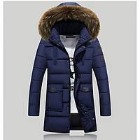 Мужская зимняя куртка с капюшоном. Модель 806, фото 1