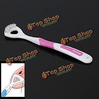 Мягкий зубной скребок очиститель для ухода за полостью рта неприятный запах изо рта инструмент в чистоте
