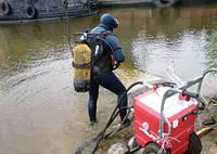 Резка бетона под водой