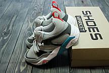 Мужские кроссовки Sneaker Freaker X Puma Trinomic Blaze of Glory Great White, фото 2