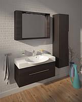 Мебли в ванную производитель Буль буль Sumatra 98 (тумба с умывальником, зеркальный шкаф, пенал)