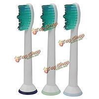 3шт универсальная звуковая замена головки зубной щетки для Philips Sonicare proresuits