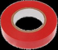 Изолента огнестойкая ПВХ 10м красная