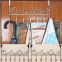 Железная дверь стены крюк робы ванной комнаты хранения метизов вешалка организатор вешалка для полотенец
