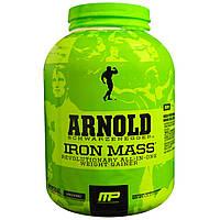 Arnold, Iron Mass, Weight Gainer, Vanilla Malt, 5 lbs (2.27 kg)