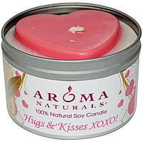 Натуральная соевая свеча, Aroma Naturals, 290г