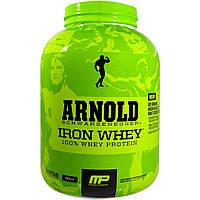 Железная Сыворотка, Ваниль, Iron Whey, 100% Whey Protein, Arnold, 2.27 кг.