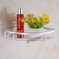 Настенный держатель угловой алюминиевый для ванной