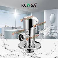 KCASA™ латунь переключатель воды Нокаут ловушку двухсторонней кухни угловой клапан ванны воды отводные принадлежности